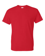 Gildan DryBlend 50/50 Red T-shirt