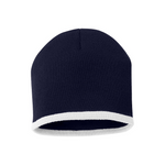 Bottom Stripe Toque - Navy & White