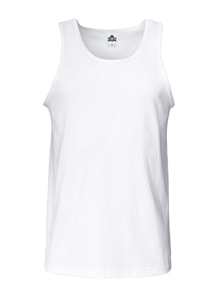 Alstyle Classic Adult  Tank Top White