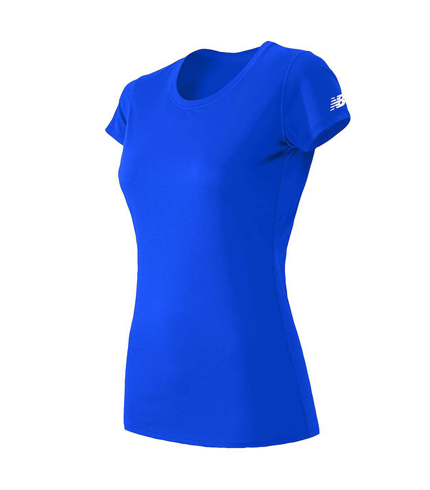 (Pacific Blue) New Balance Women's Performance T-shirts