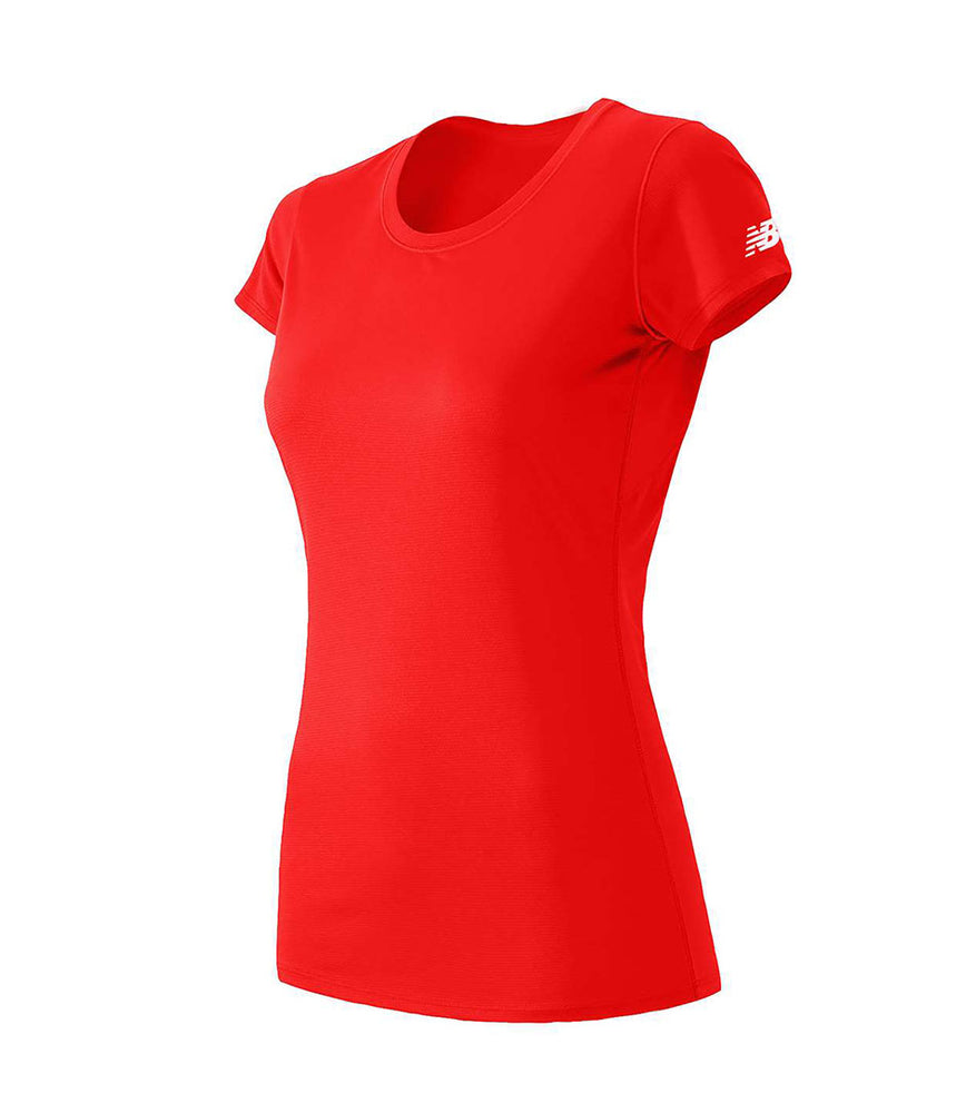 (Team Red) New Balance Women's Performance T-shirts