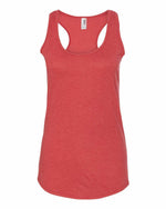 Anvil Triblend Racerback Tank - Heather Red
