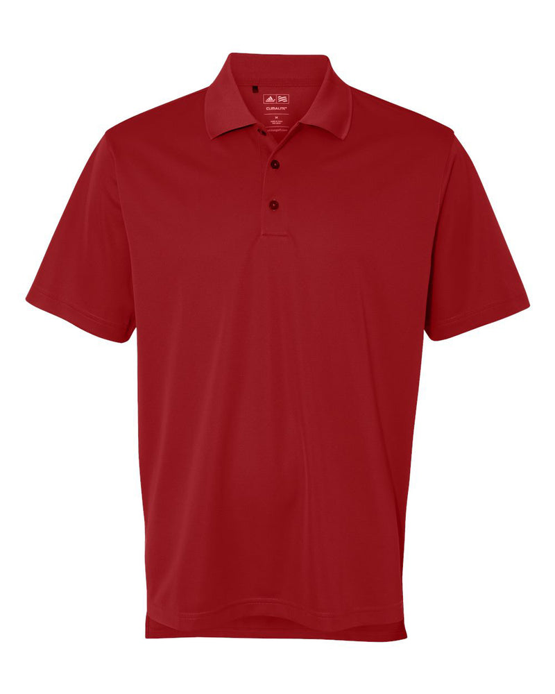 (Collegiate Red) Adidas Performance Polo Shirt