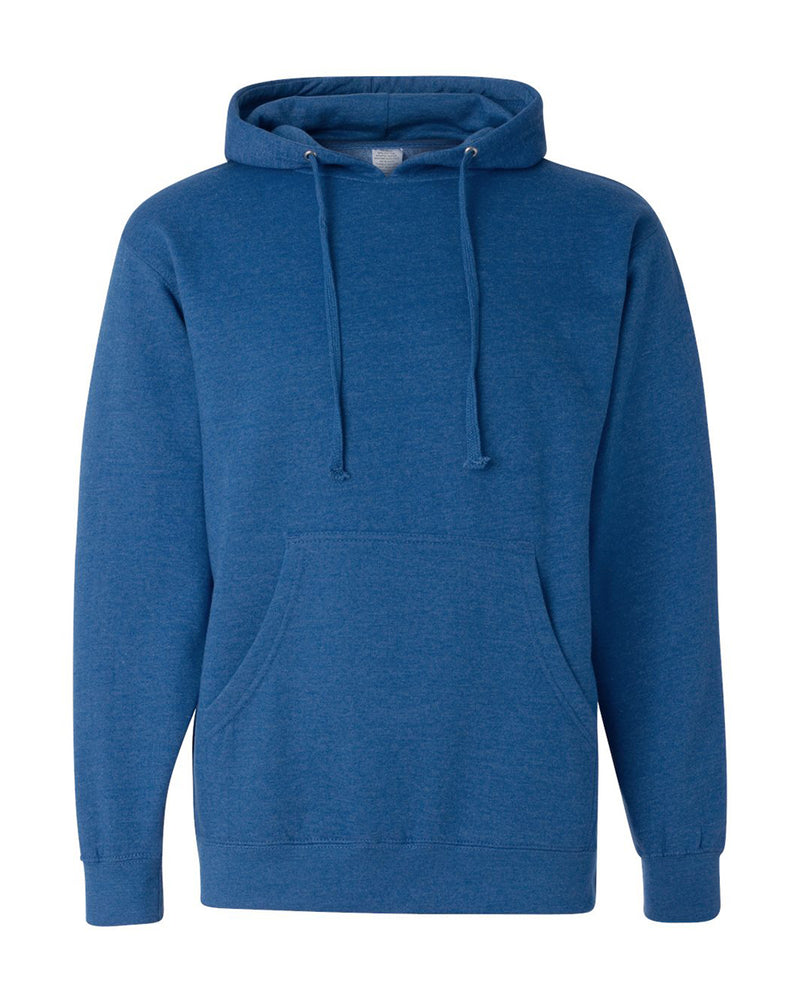 (Royal Heather) Independent Trading Co Midweight Hooded Sweatshirt