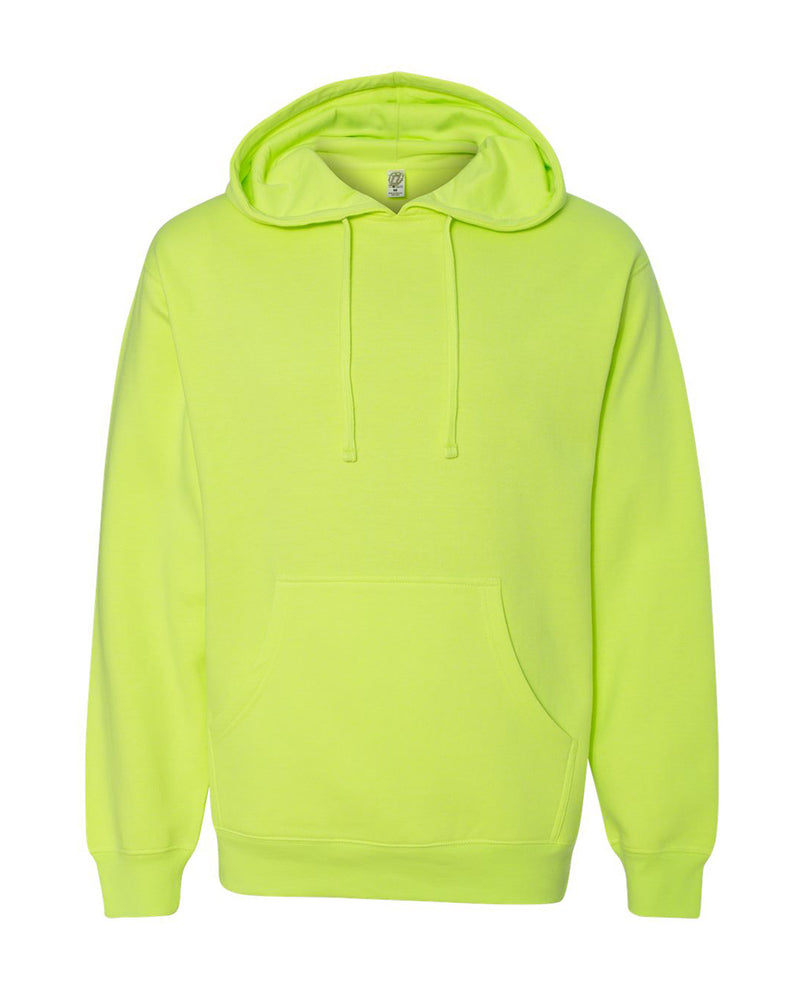 (Safety Yellow) Independent Trading Co Midweight Hooded Sweatshirt