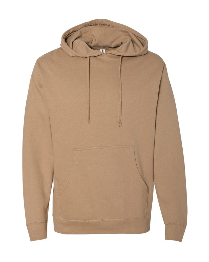 (Sandstone) Independent Trading Co Midweight Hooded Sweatshirt