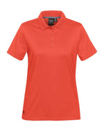 (Hot Red) Stormtech Women's Oasis Liquid Cotton Polo
