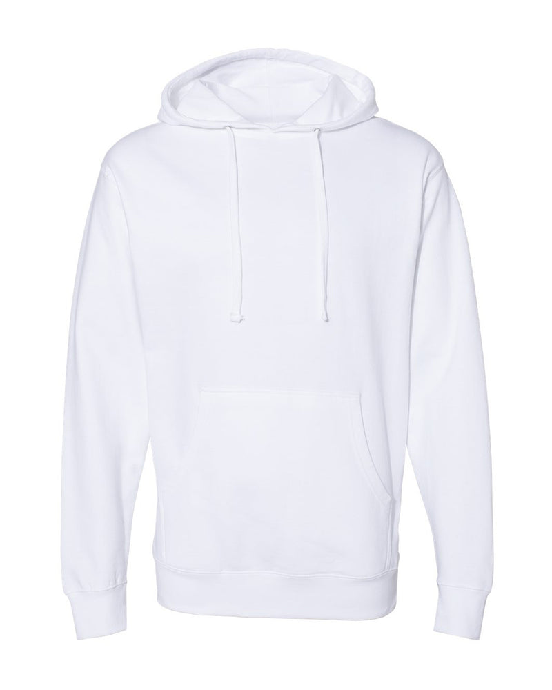 (White) Independent Trading Co Midweight Hooded Sweatshirt