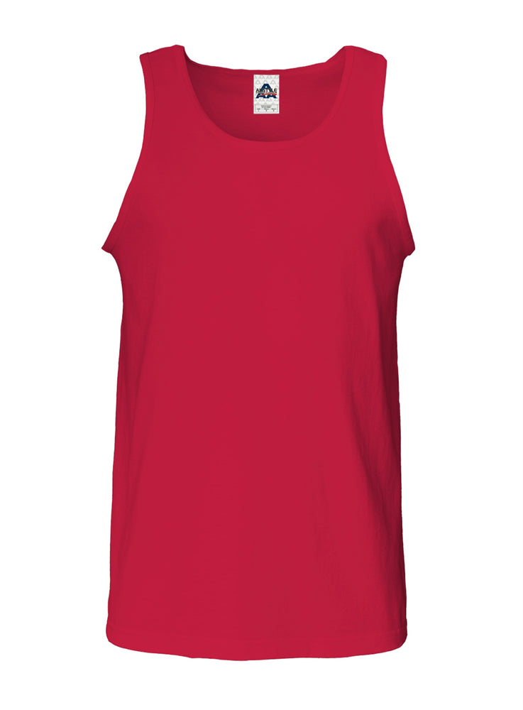 Alstyle Classic Adult  Tank Top Red