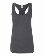 Anvil Triblend Racerback Tank - Heather dark Grey