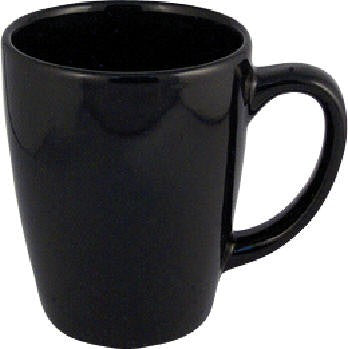 Comfort Ceramic Black Mug 12 oz.