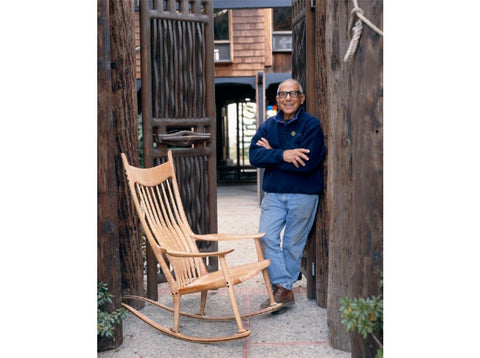 Maloof and rocking chair
