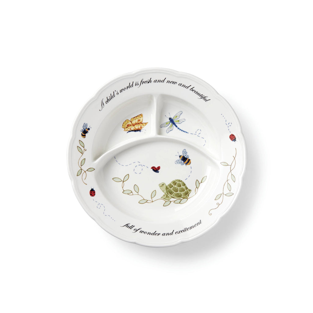 Butterfly Meadow Baby Divided Dish