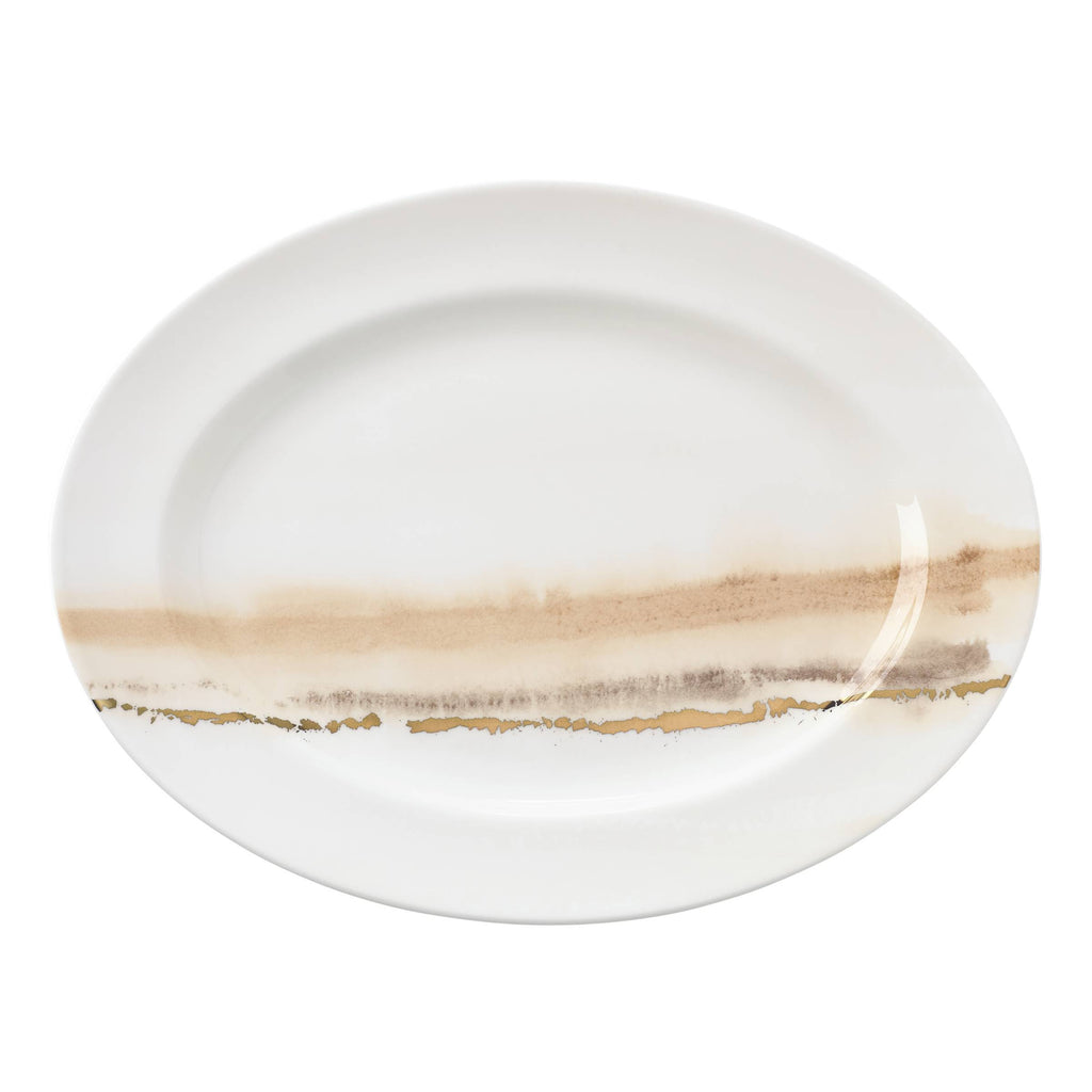 Fall Radiance Oval Platter 16""