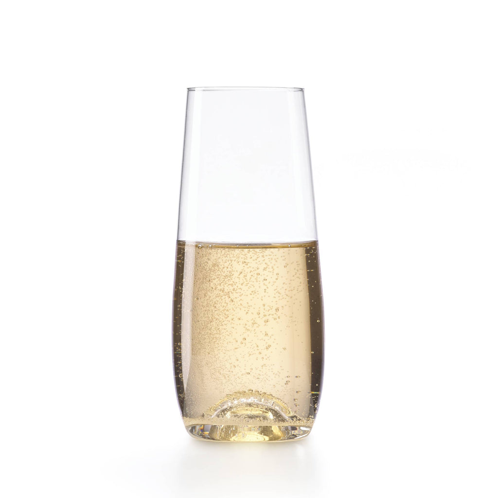 Tuscany Crystal Stemless Flute Set of 6