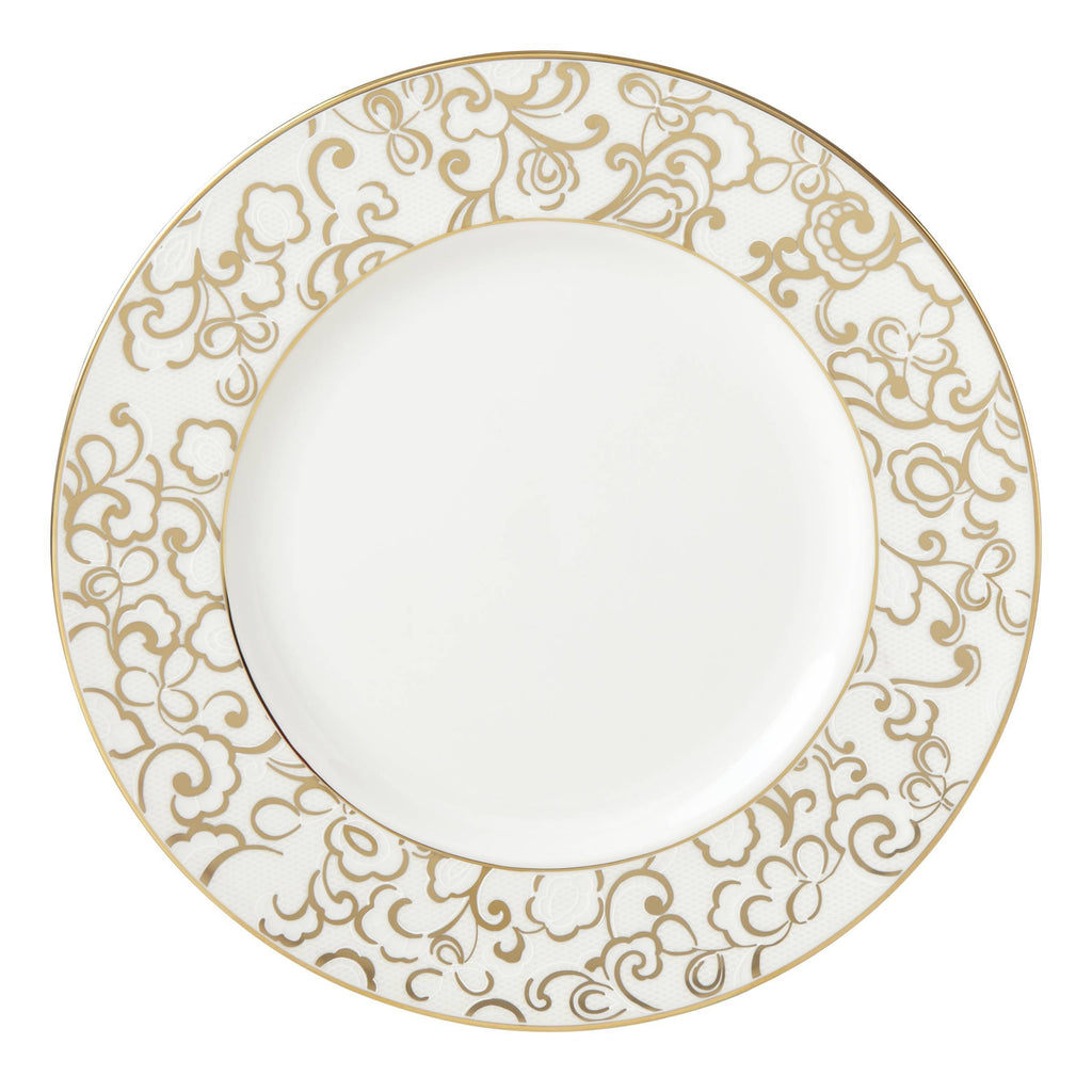 Venetian Lace Gold Signature Accent Plate