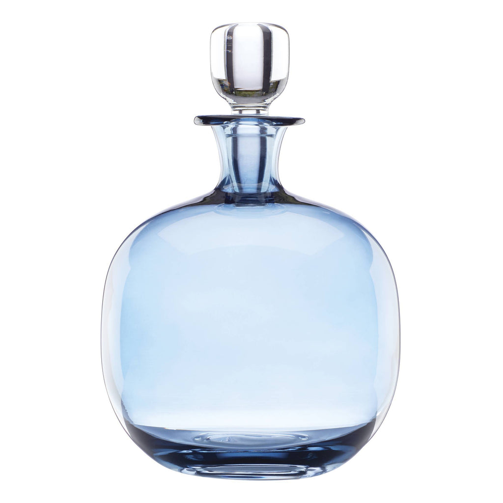 Valencia Blue Decanter