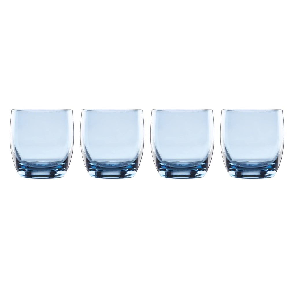 Valencia Blue Double Old Fashioned Set of 4