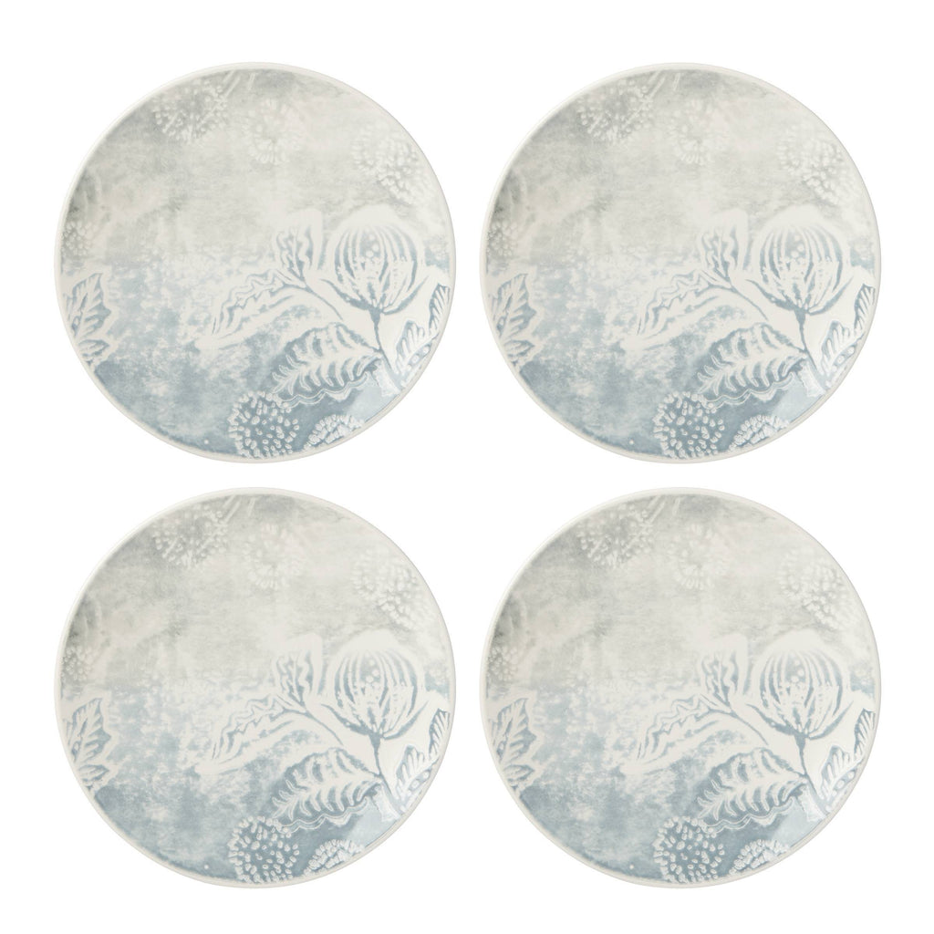 Textured Neutrals Accent Plate Set of 4