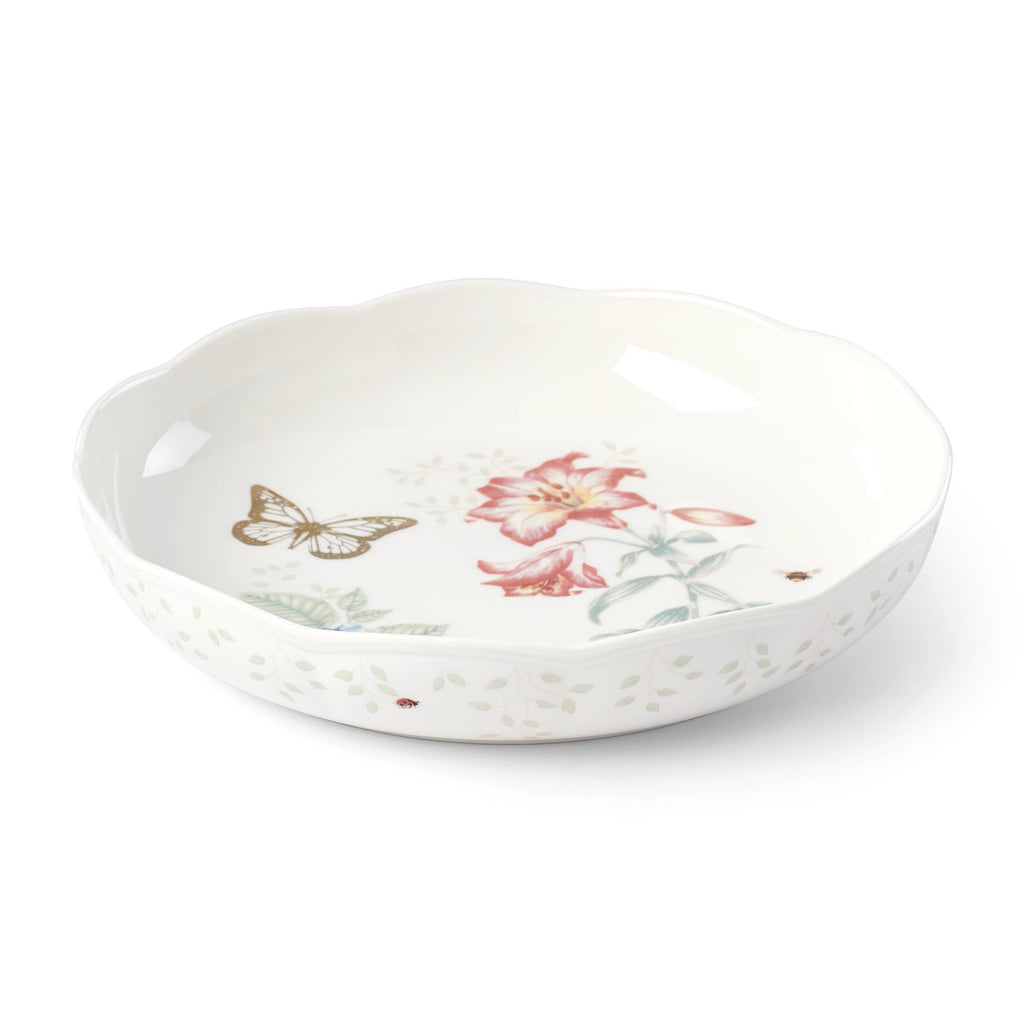 Butterfly Meadow 20th Anniversary Low Serving Bowl