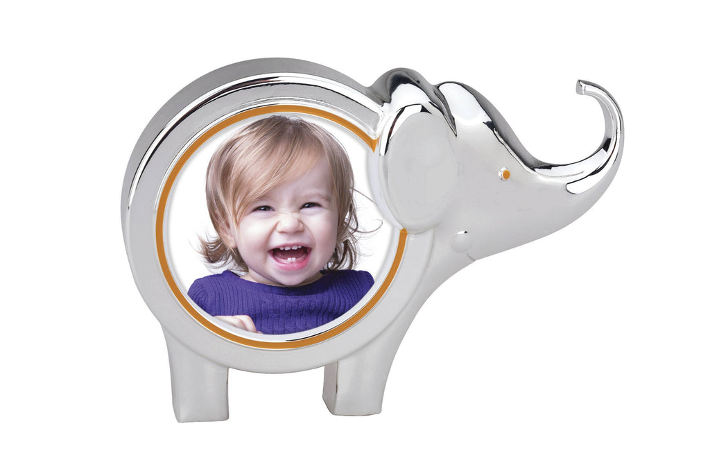 Jungle Parade Elephant Round Frame