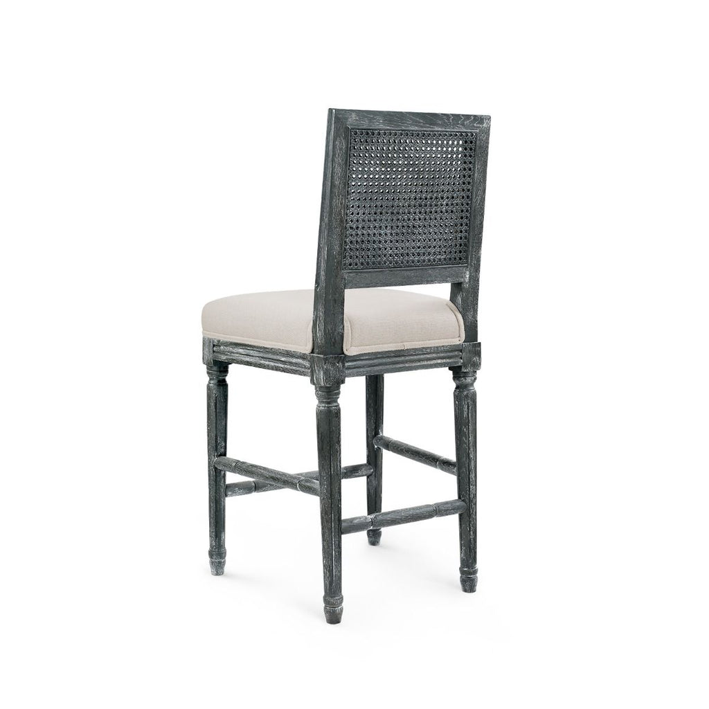 ANNETTE COUNTER STOOL, GRAY
