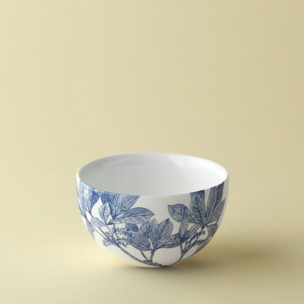 ARBOR BLUE SNACK BOWL