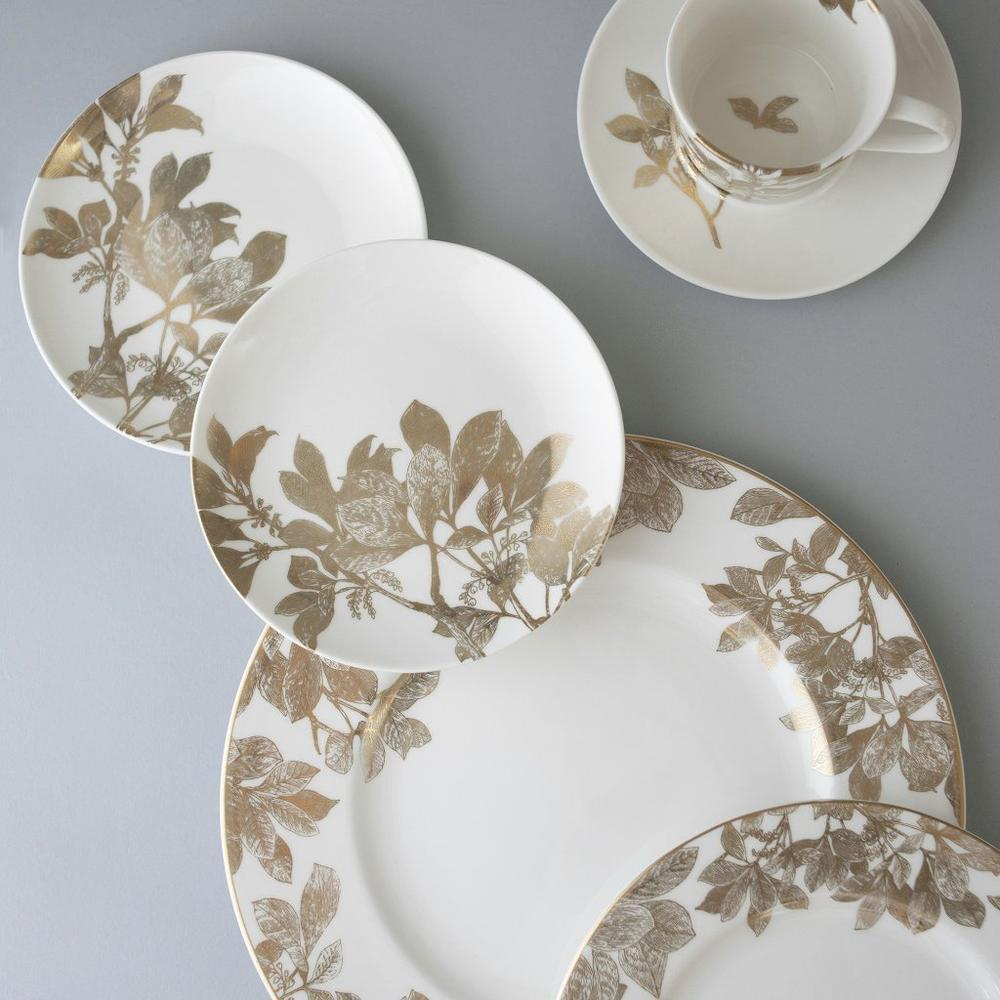ARBOR GOLD SALAD PLATE