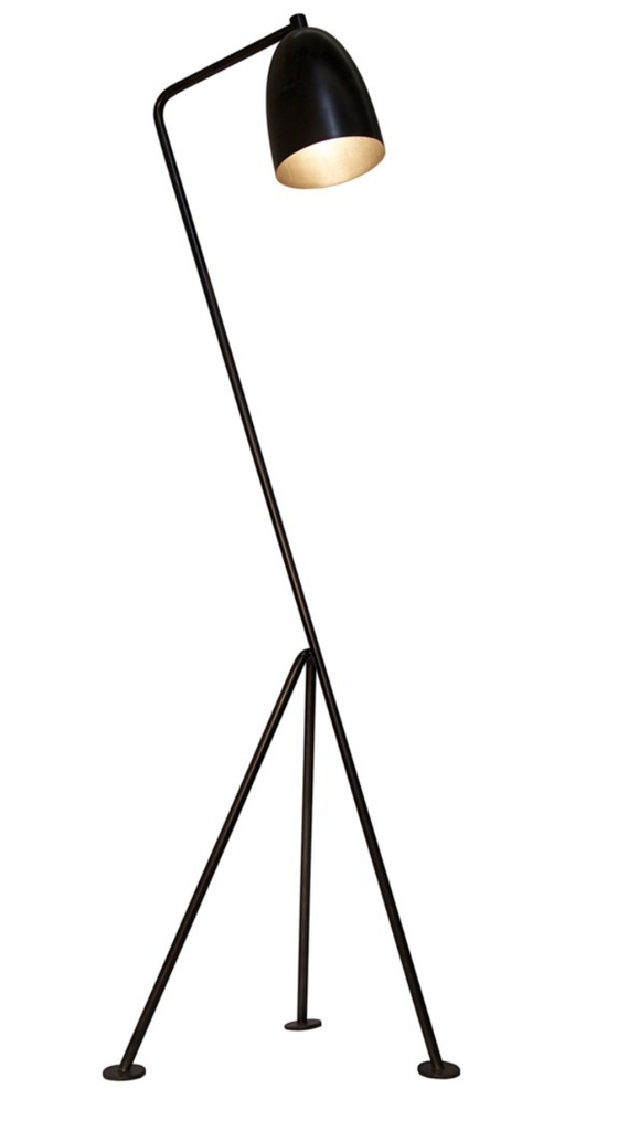 Asti Floor Lamp,Black Metal