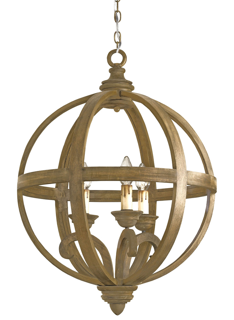 Axel Small Orb Chandelier