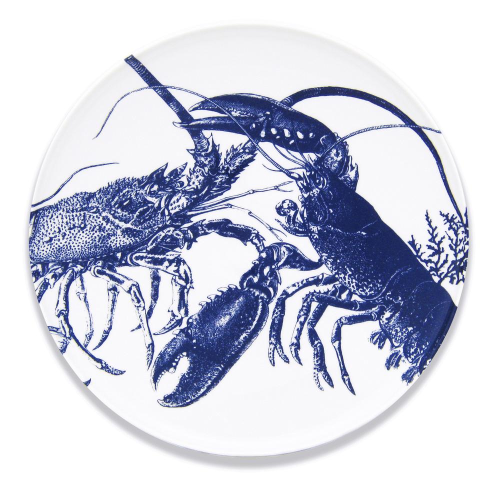 BLUE LOBSTERS COUPE PLATTER