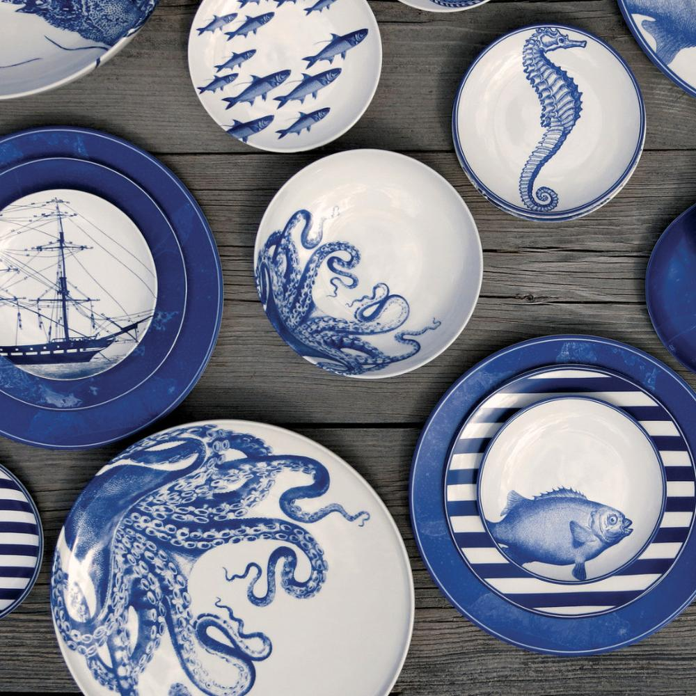 BLUE LUCY COUPE PLATTER