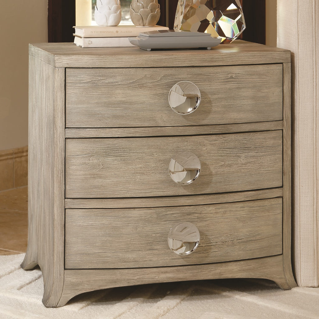 Bow Front 3 Drawer Chest