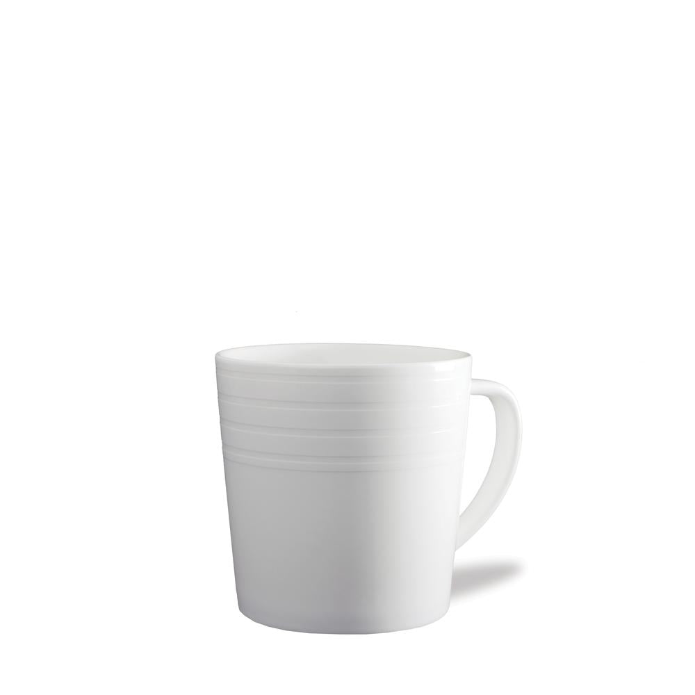 CAMBRIDGE STRIPE WHITE 14 OZ. MUG