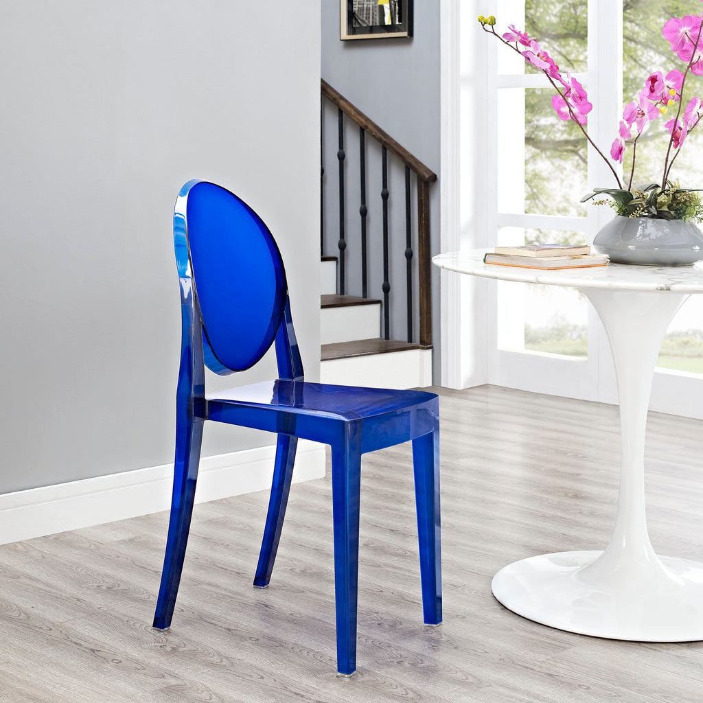 Casper Dining Side Chair in Blue