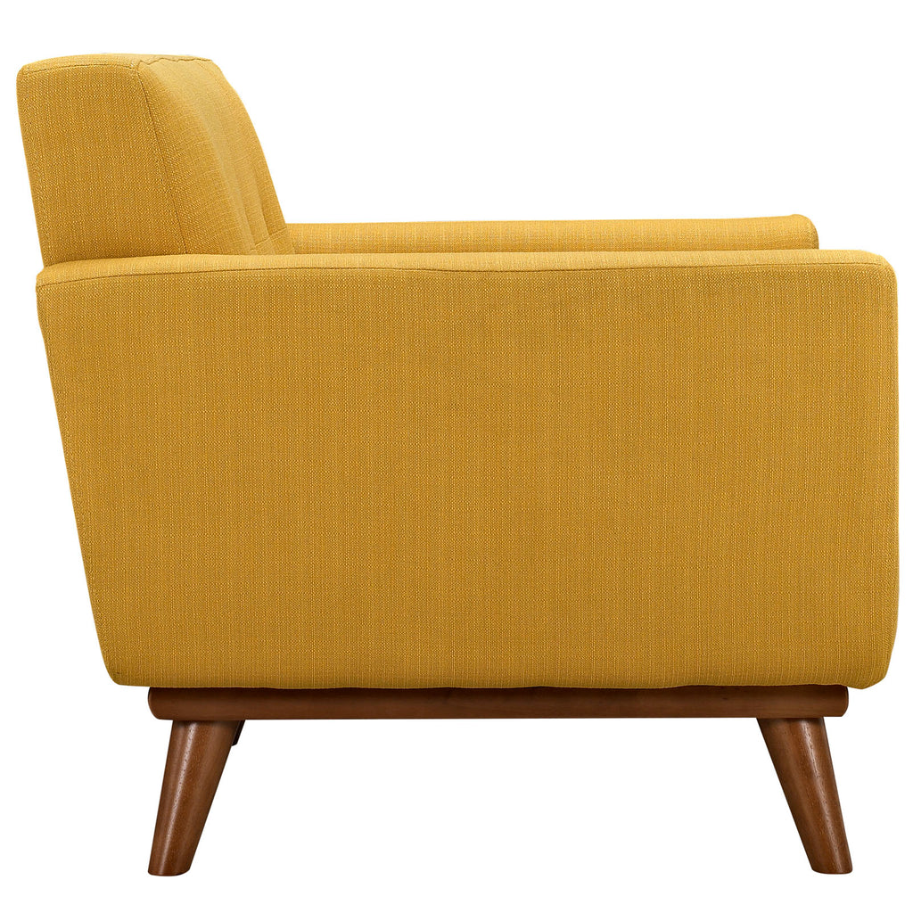 Engage Armchair and Loveseat Set of 2 in Citrus