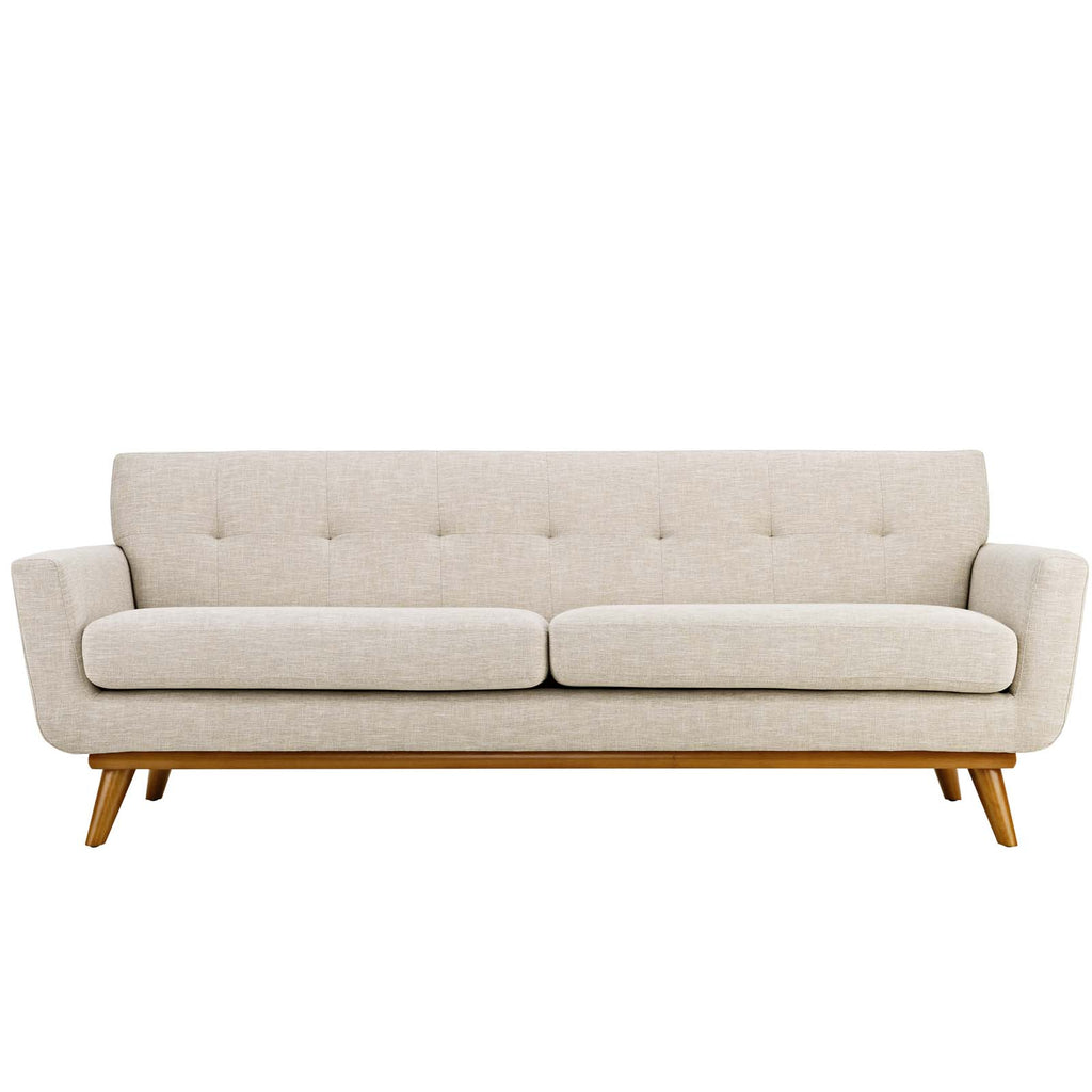 Engage Loveseat and Sofa Set of 2 in Beige