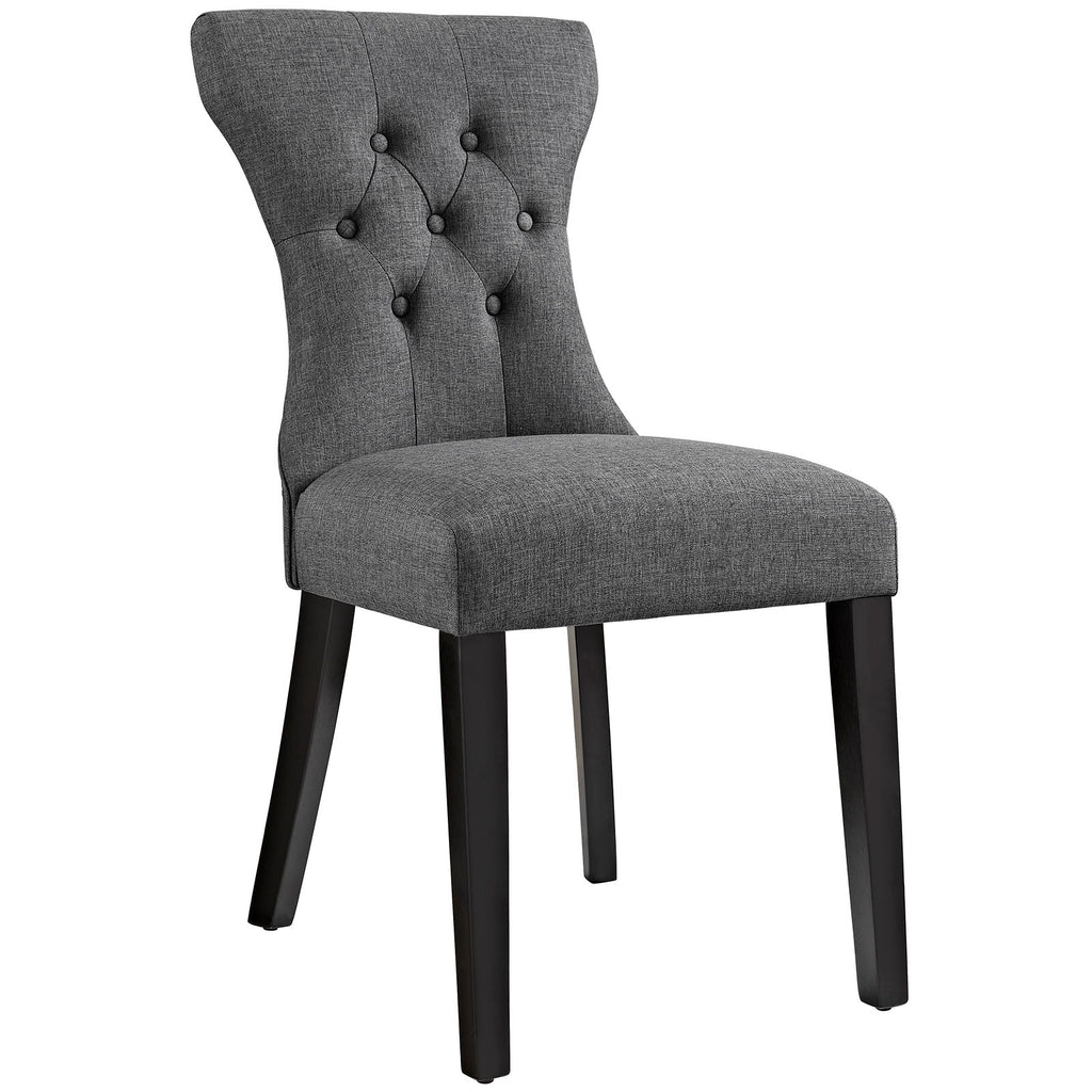 Silhouette Dining Side Chair in Gray