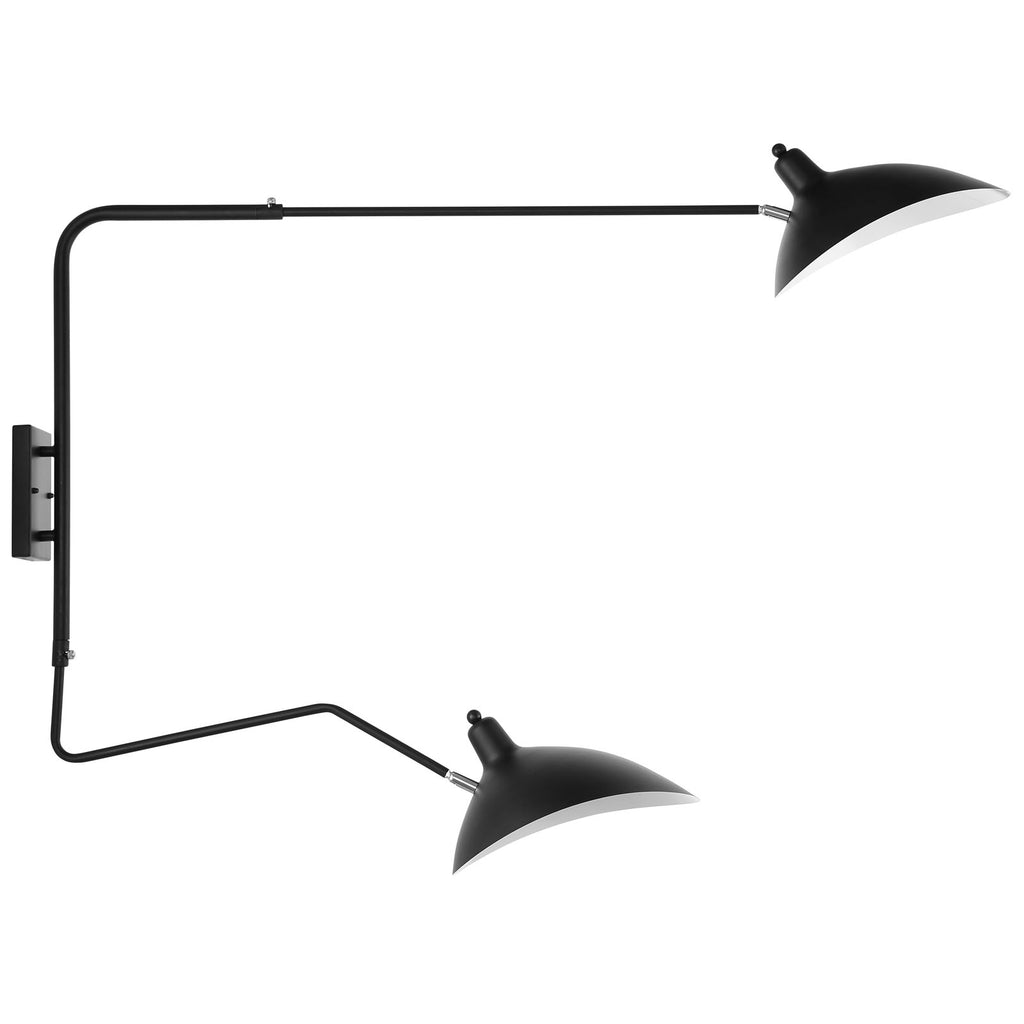 View Double Fixture Wall Lamp