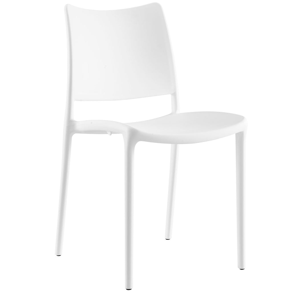 Hipster Dining Side Chair in White