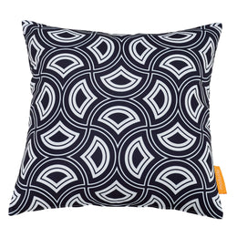 Modway Two Piece Outdoor Patio Pillow Set in Mask
