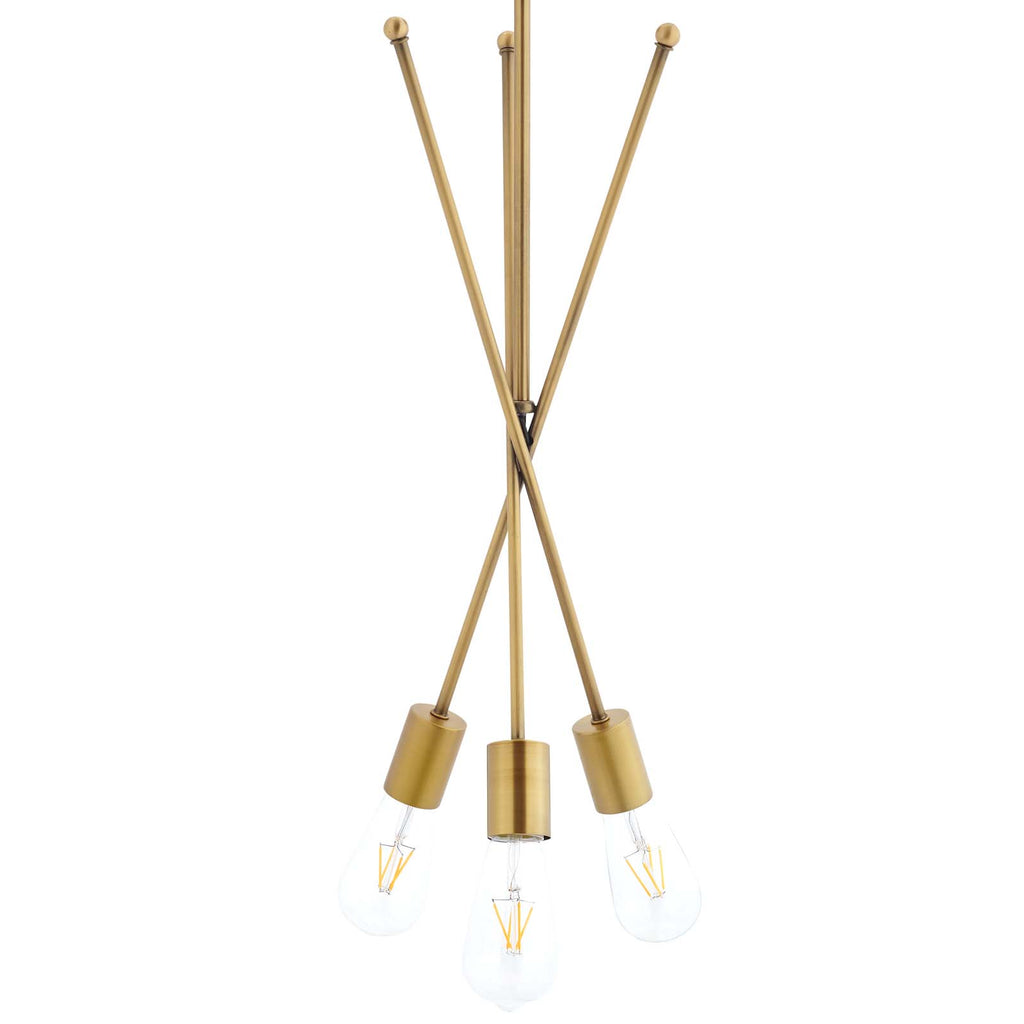 Strive Brass Pendant Chandelier