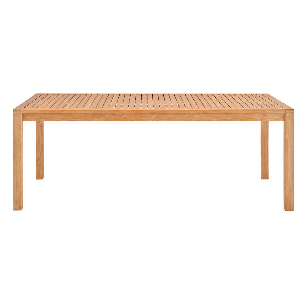 "Farmstay 79"" Outdoor Patio Teak Wood Dining Table"