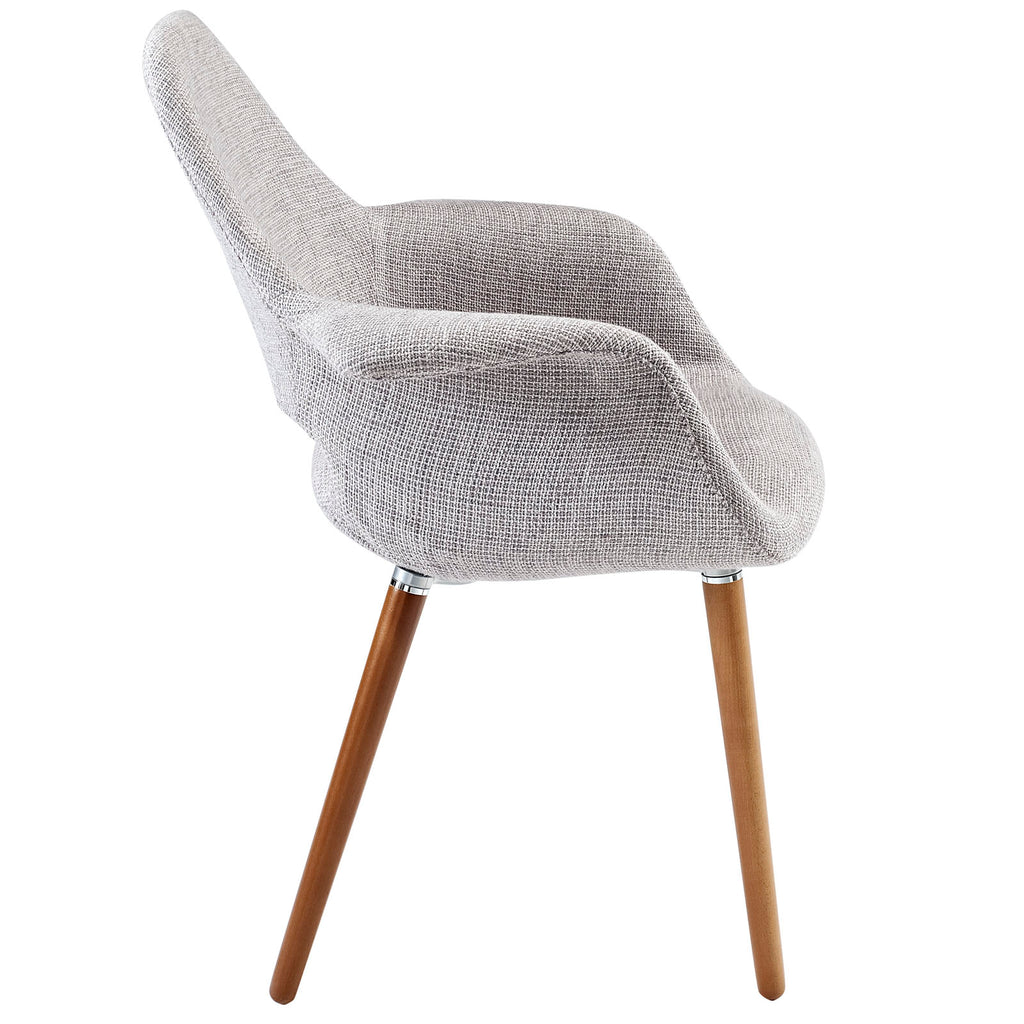 Aegis Dining Armchair in Light Gray