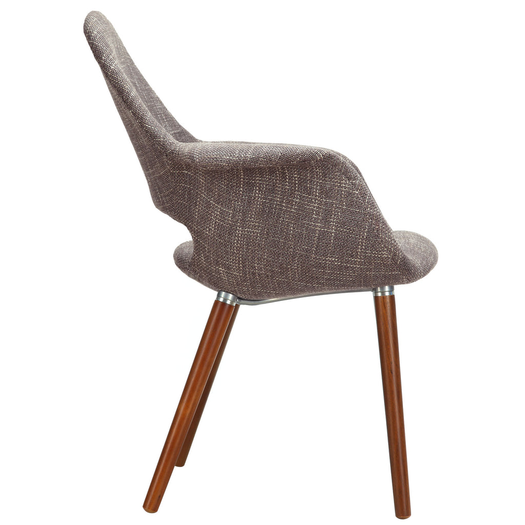 Aegis Dining Armchair in Taupe