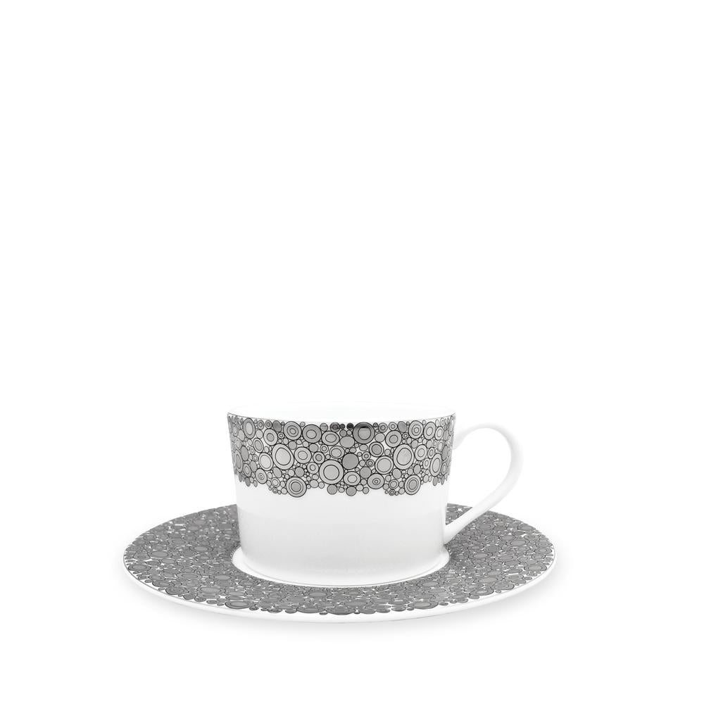 ELLINGTON SHINE- PLATINUM CUP & SAUCER