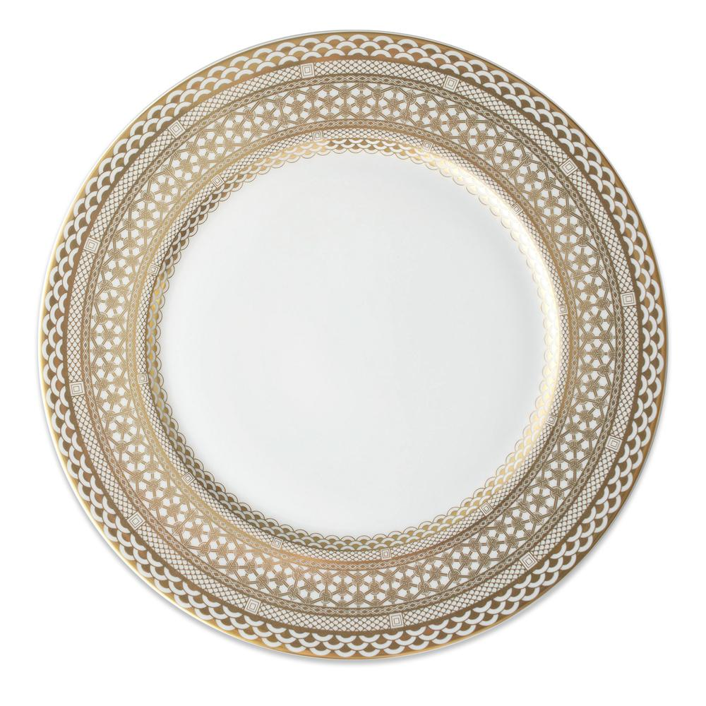 HAWTHORNE GILT- GOLD CHARGER PLATE