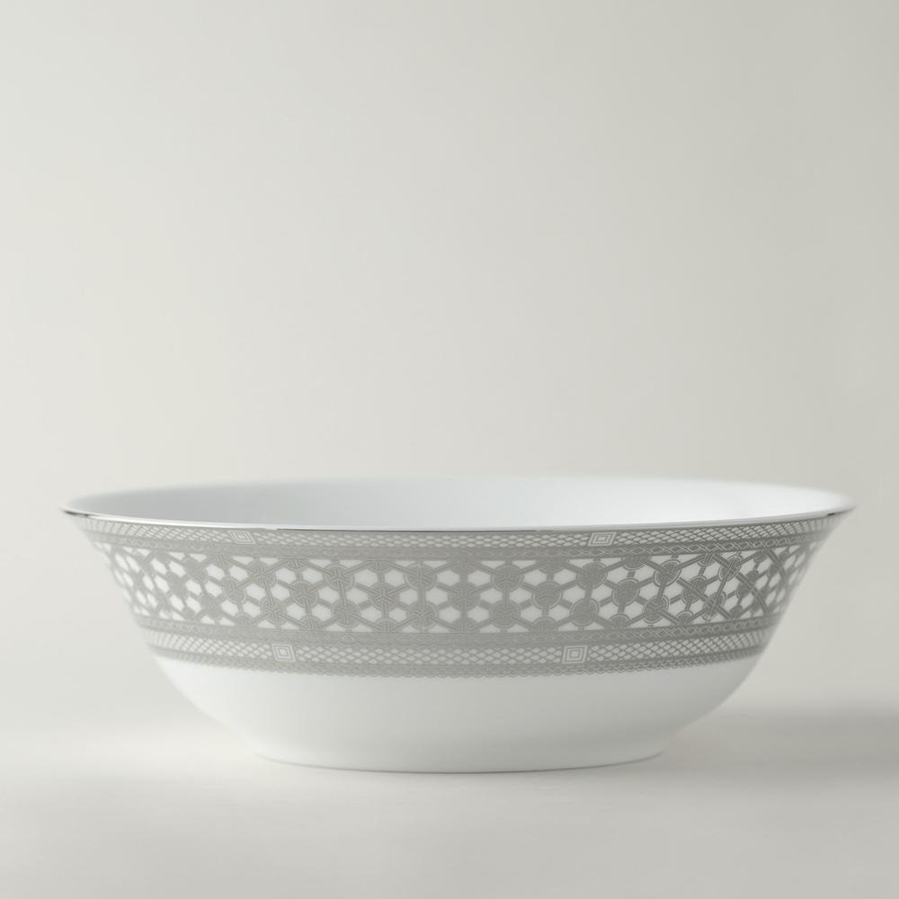 HAWTHORNE ICE - PLATINUM SERVING BOWL