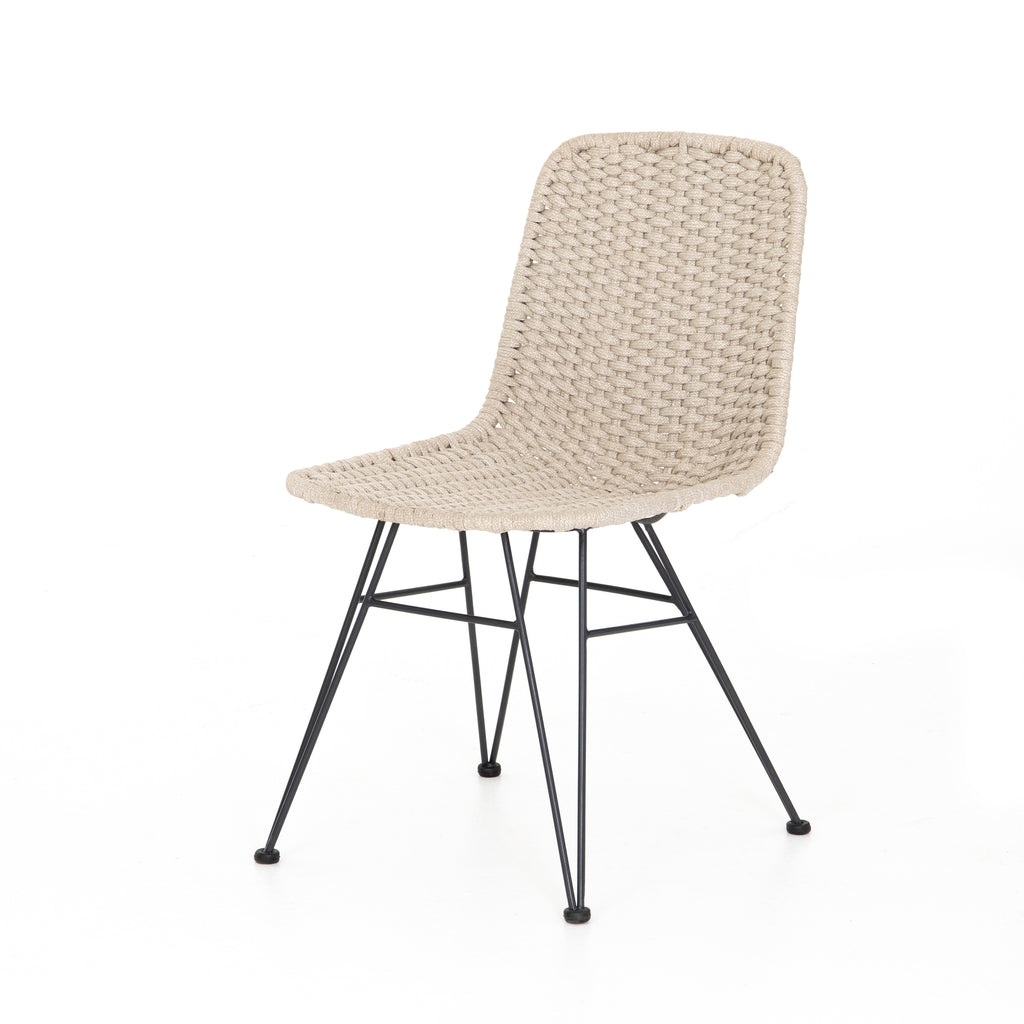Dema Outdoor Dining Chair - Natural Rope