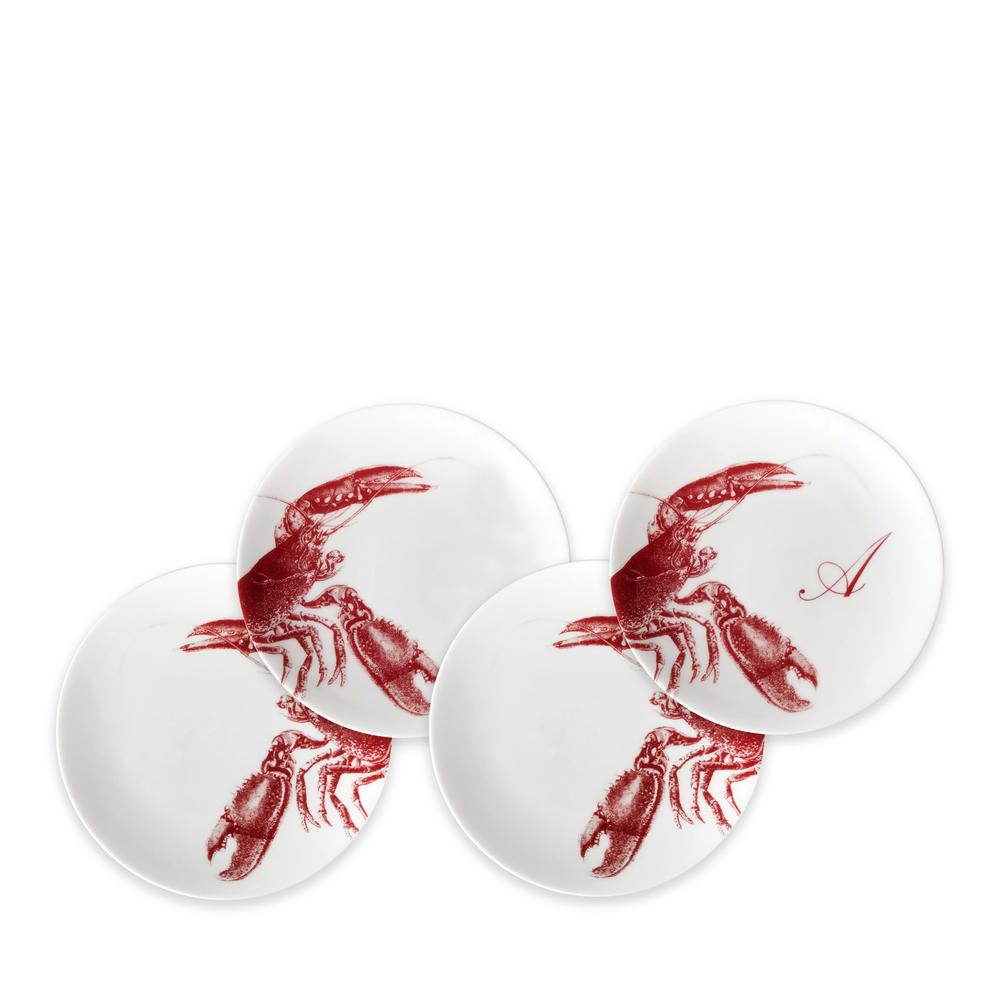 LOBSTERS RED CANAPÉS SET OF 4